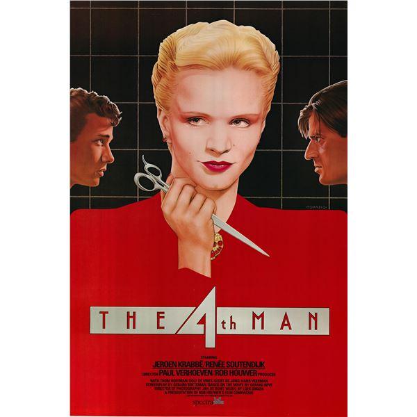 The Fourth Man 1984 original vintage movie poster