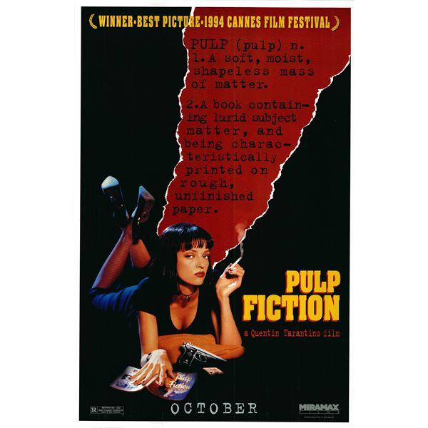 Pulp Fiction 1994 original movie poster