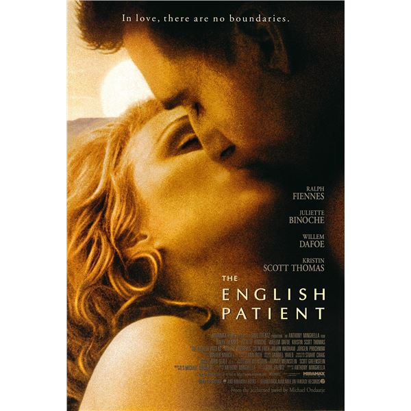 The English Patient 1996 original one sheet movie poster