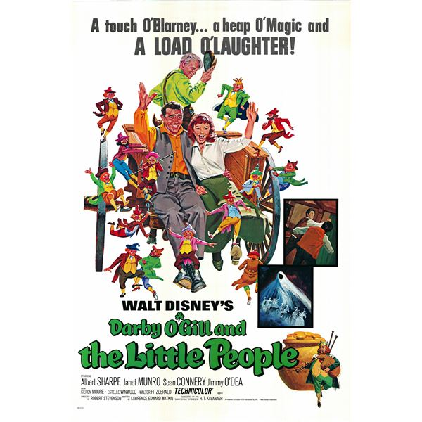 Darby O'Gill and the Little People 1977 original vintage movie poster