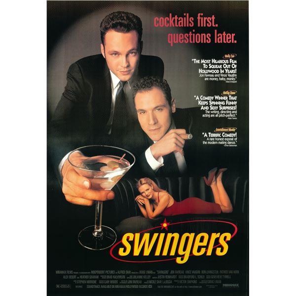 Swingers 1996 original vintage movie poster