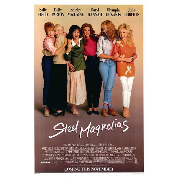 Steel Magnolias 1989 original vintage one sheet movie poster