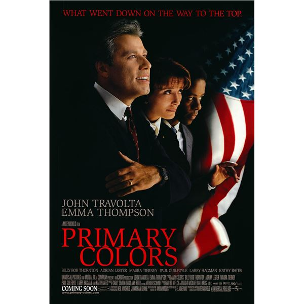 Primary Colors 1997 original one sheet movie poster