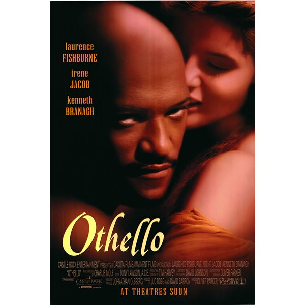 Othello 1995 original movie poster
