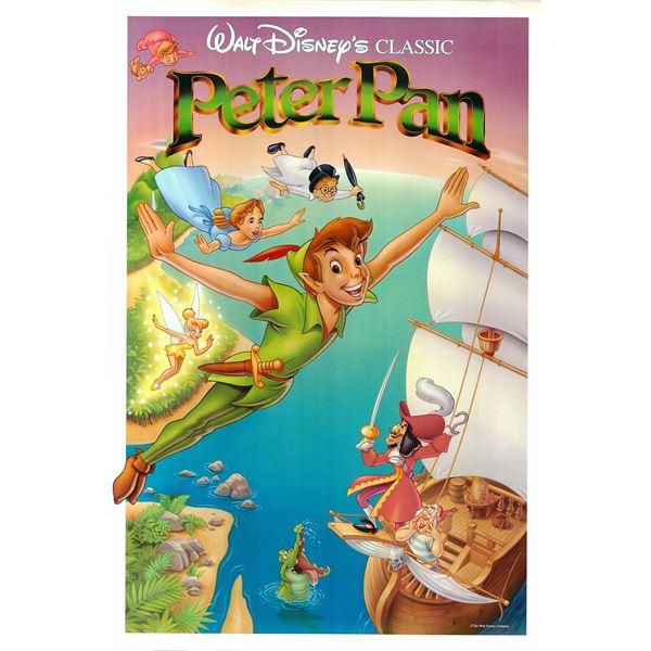 Peter Pan 1989 original one sheet movie poster