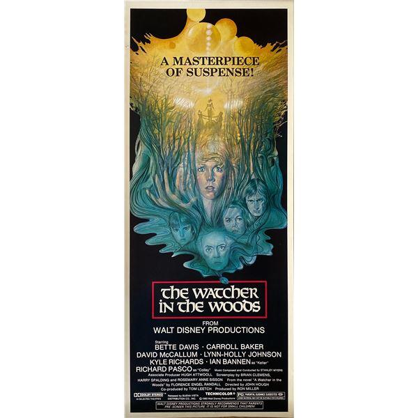 Watcher in the Woods 1980 original vintage insert card