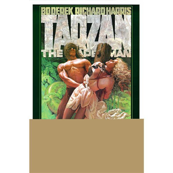 Tarzan, the Ape Man 1981 original vintage one sheet poster