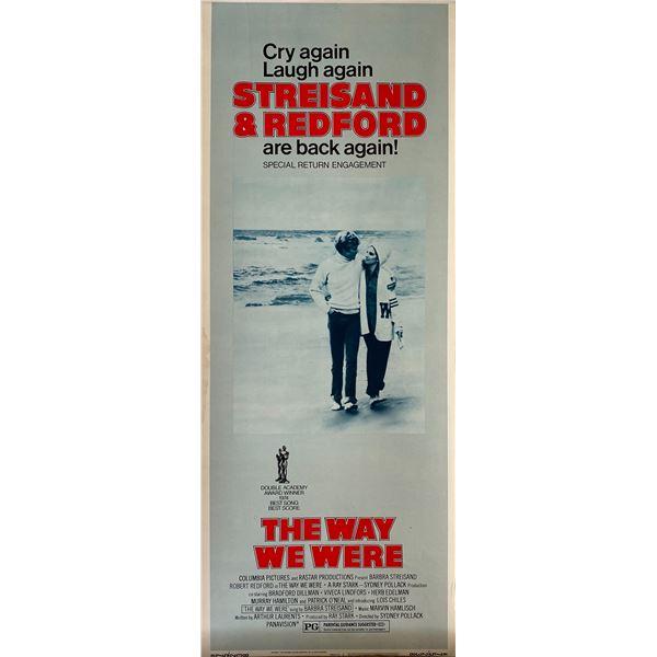 The Way We Were 1975 original vintage insert card