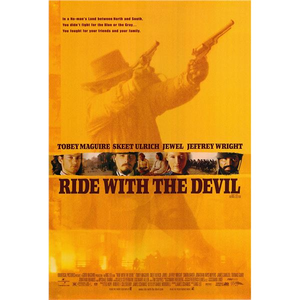 Ride with the Devil 1999 original one sheet movie poster