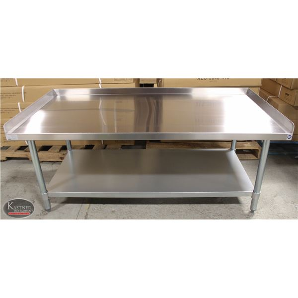 """NEW 30""""X60""""X24"""" STAINLESS STEEL EQUIPMENT STAND W/"""