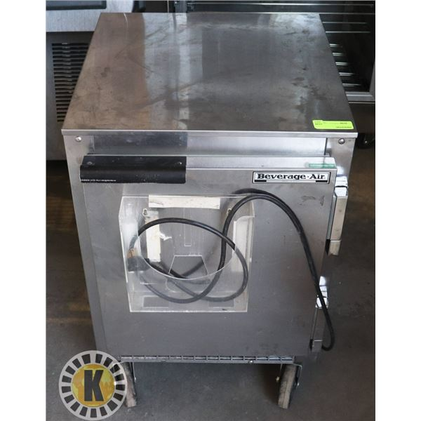 BEVERAGE AIR MADE IN USA UNDER COUNTER COOLER/