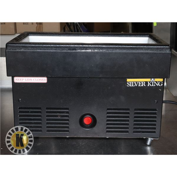1/3 SIZE COUNTER TOP COOLER (SILVER KING)