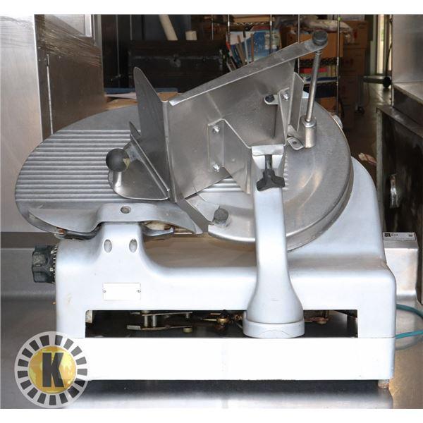 BERKEL MODEL 909 AUTOMATIC MEAT SLICER