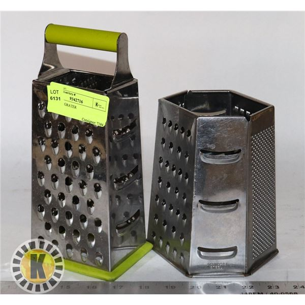 2 CHEESE GRATER