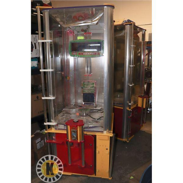 2 MONSTER DROP PRIZE REDEMPTION MACHINES