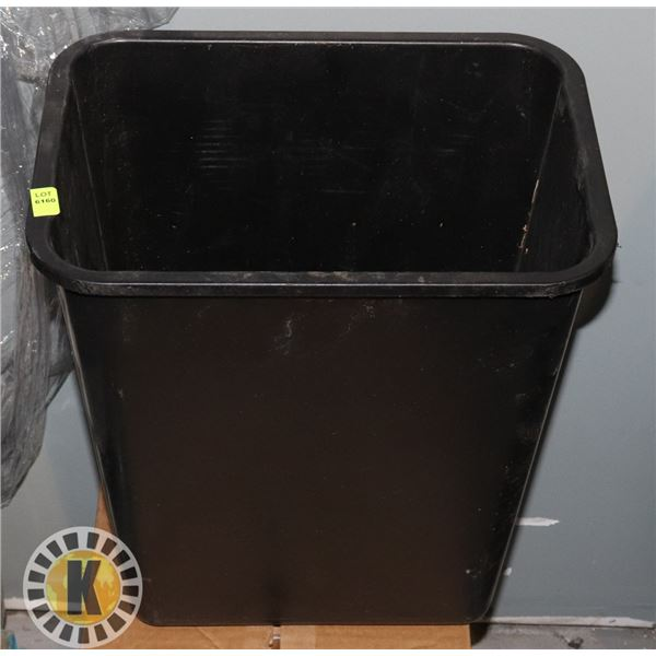 SMALL BLACK OFFICE GARBAGE CAN