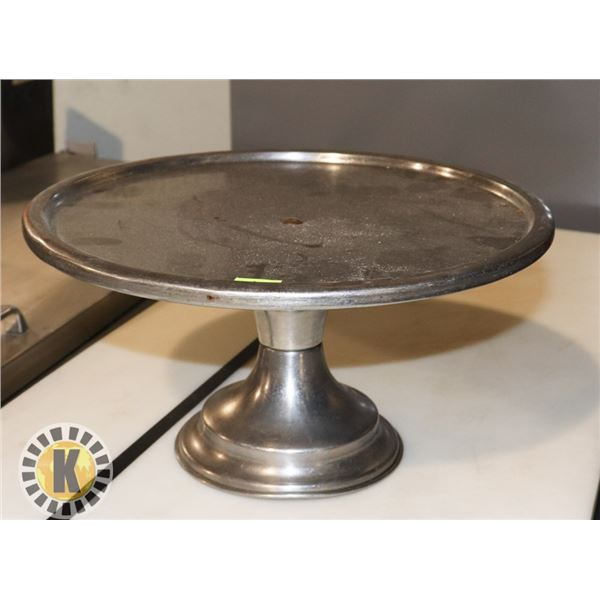 """12"""" STAINLESS PIZZA TRAY"""