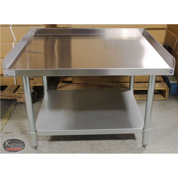 """NEW 30""""X36""""X24"""" STAINLESS STEEL EQUIPMENT STAND W/"""