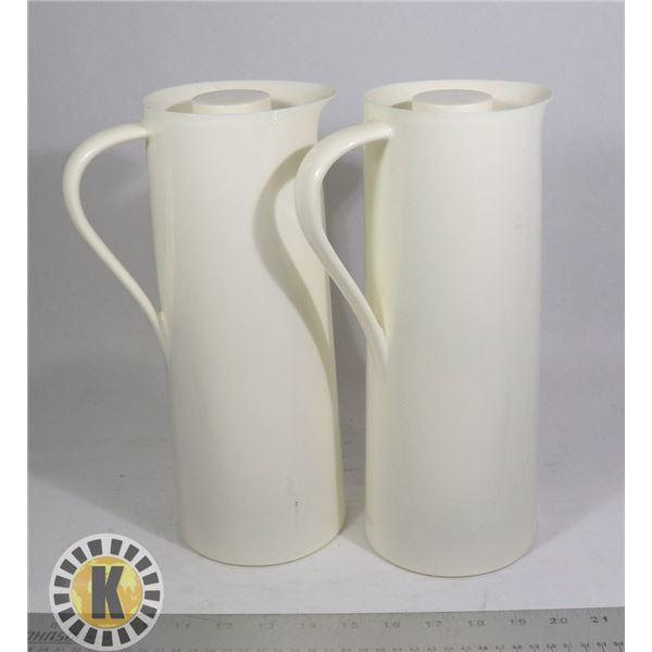 PAIR OF INSULATED BEVERAGE OR CONDIMENT