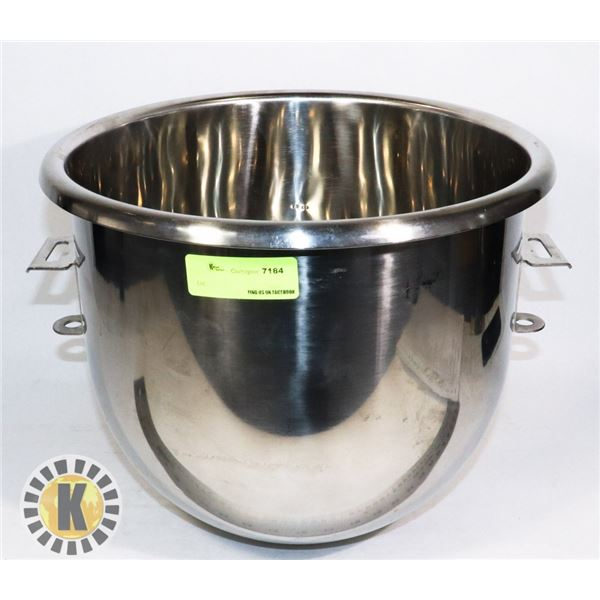 NEW REPLACEMENT BOWL FOR 20 QUART HOBART