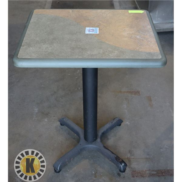 1 SHORT RESTAURANT TABLE