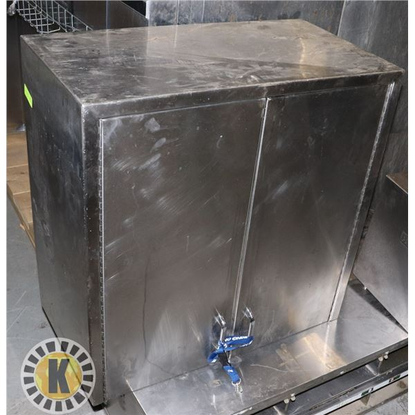 """STAINLESS WALL MOUNT CABINET 30"""" BY 30"""" BY 16"""""""