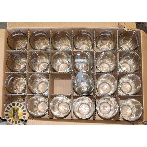 24 KOKANEE BEER GLASSES