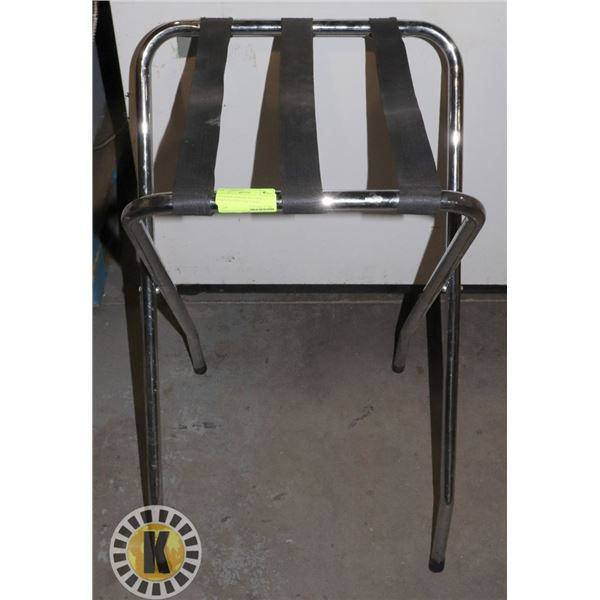 STANDING SERVING STATION- STAINLESS ROD AND STRAPS