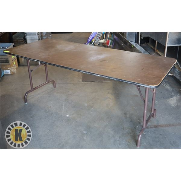 """LARGE FOLDABLE TABLE - 72"""" BY 30"""""""