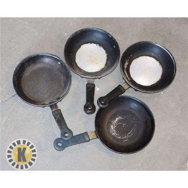 6'' FRYING PAN- 4 UNITS