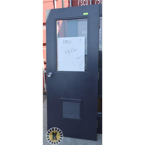 """COMMERCIAL DOOR 79"""" BY 32"""""""