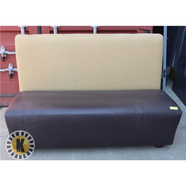 """MODULAR BOOTH SEAT 54"""" BY 27"""" BY 37"""""""