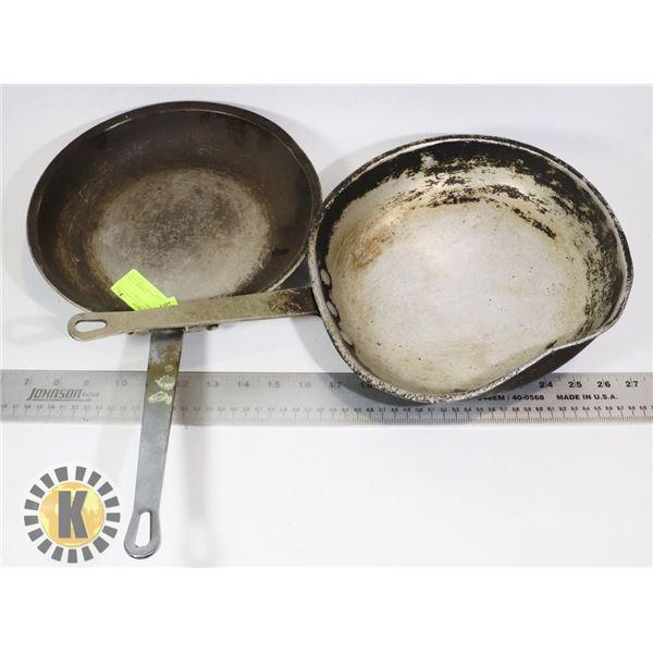 "7"" FRYING PANS- 3 UNITS"