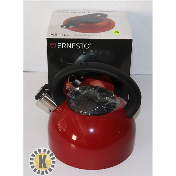 NEW STAINLESS STEEL 2L CAPACITY KETTLE