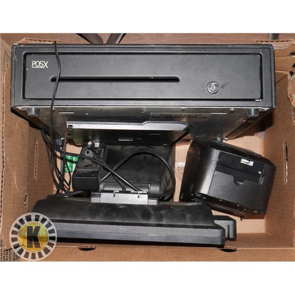 POS SYSTEM- CASH DRAWER, KEYBOARD, RECEIPT PRINTER