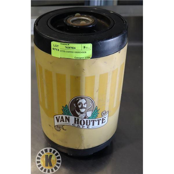 VANHOUTTE COFFEE DISPENSER