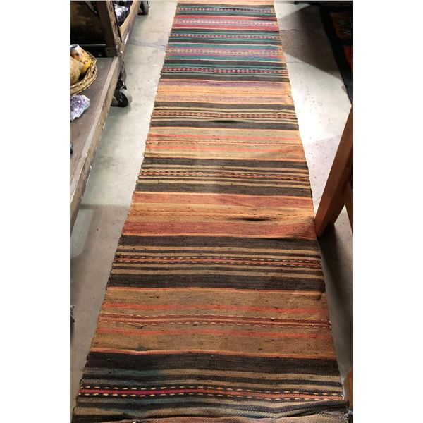 Hand-knotted runner area rug - approx. 23ft x 2ft