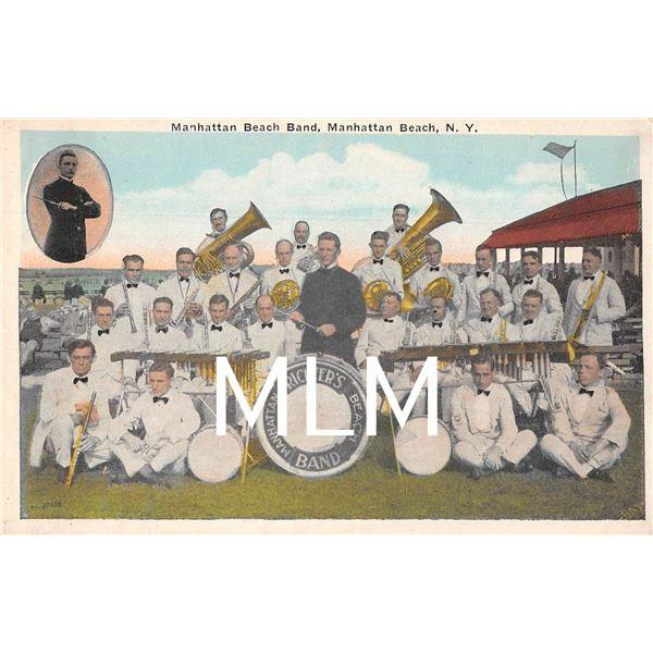Richter's Band Manhattan Beach, New York Postcard