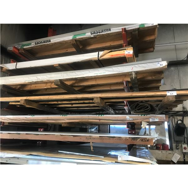 3 SHEETS STAINLESS STEEL 5' X 12' - 16 OR 18 GAUGE