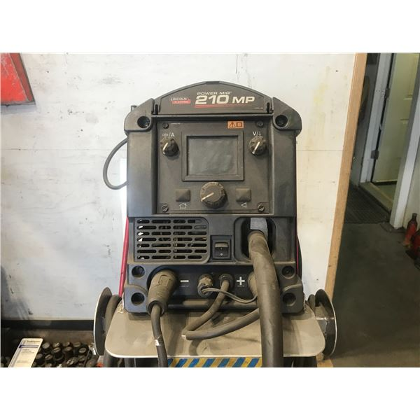 LINCOLN ELECTRIC 210MP POWER MIG WITH ROLLING CART