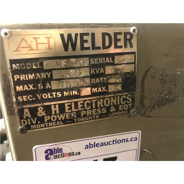 AH SPOT WELDER MODEL RFEC