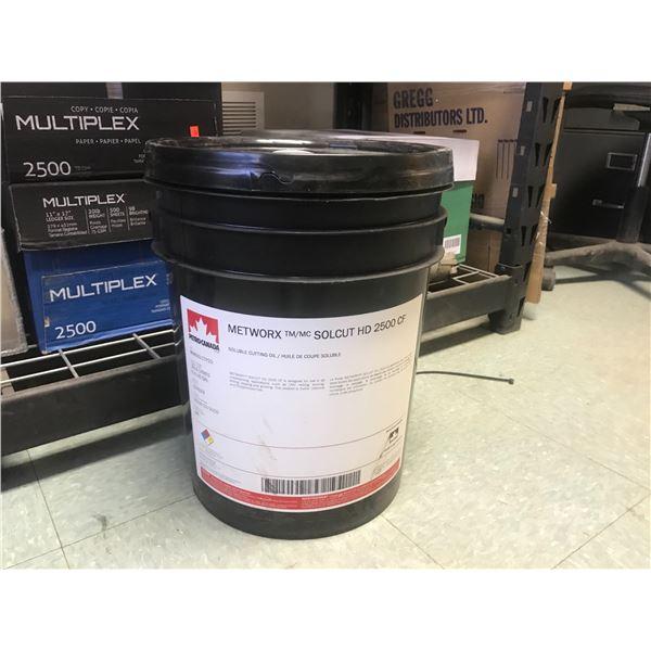 METWORX SOLCUT HD 2500 CF CUTTING OIL (20L)