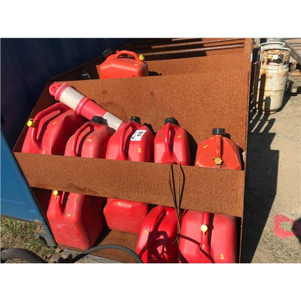 12 - GAS CANS