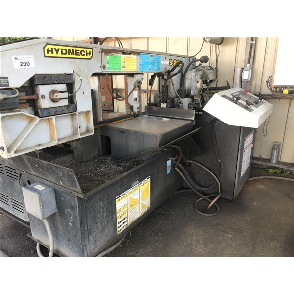 HYDMECH S-20A BAND SAW WITH EVOLUTION TS50 CONTROLLER AUTO FEED WITH VARIABLE FEED