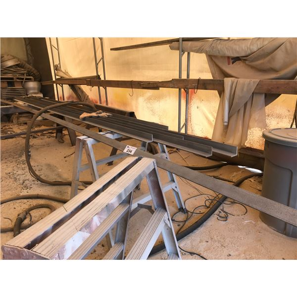 """6 PIECES OF 2"""" ANGLE IRON X 16'"""