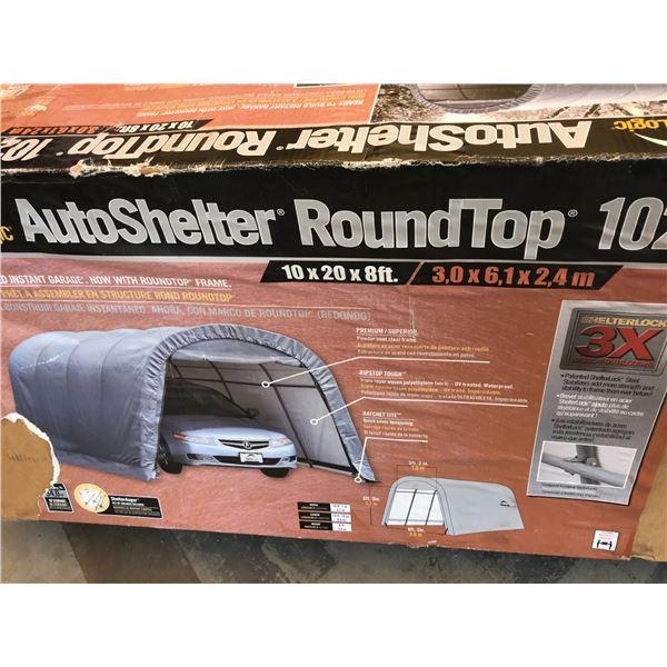 SHELTERLOGIC AUTO SHELTER ROUNDTOP 1020 10 X 20 X 8'