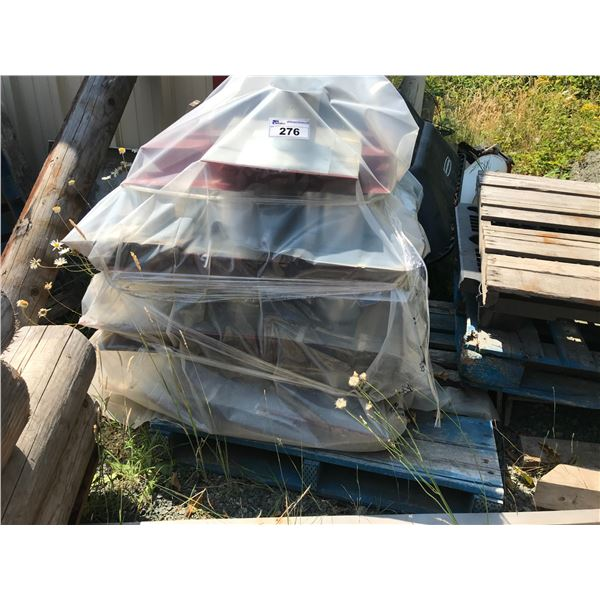 PALLET OF ROOF VENTS