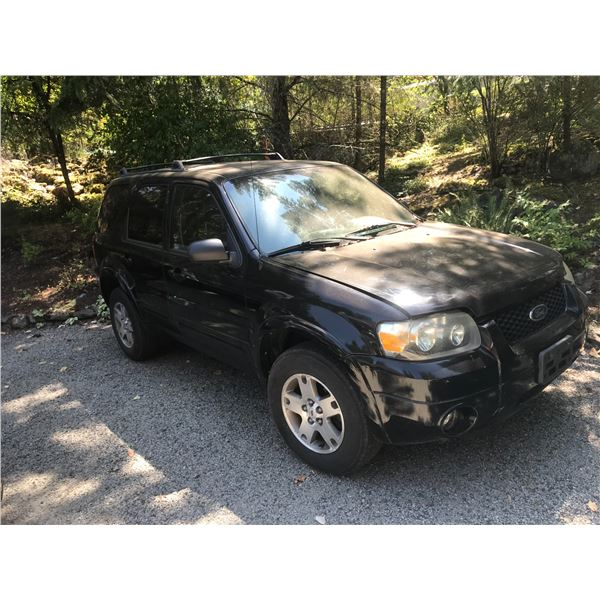 *NANOOSE* 2005 FORD ESCAPE SUV, BLACK, VIN# 1FMCU94145KD28070, 90304M, 6 CYL, AUTOMATIC,