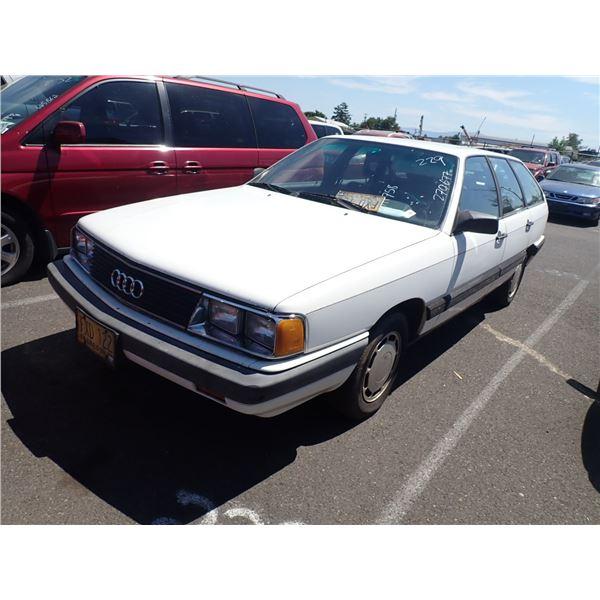 1984 Audi 5000S