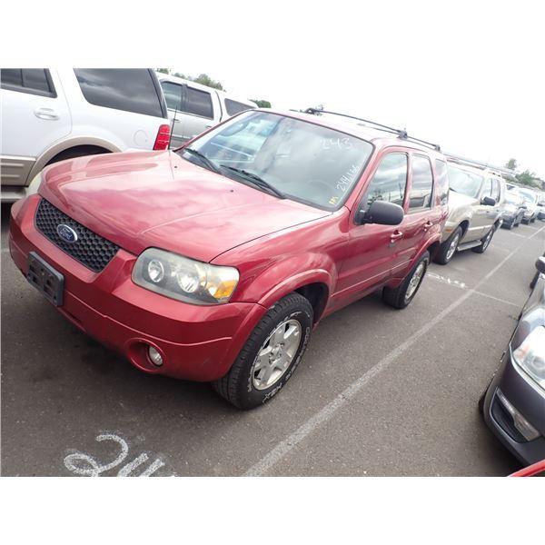 2007 Ford Escape